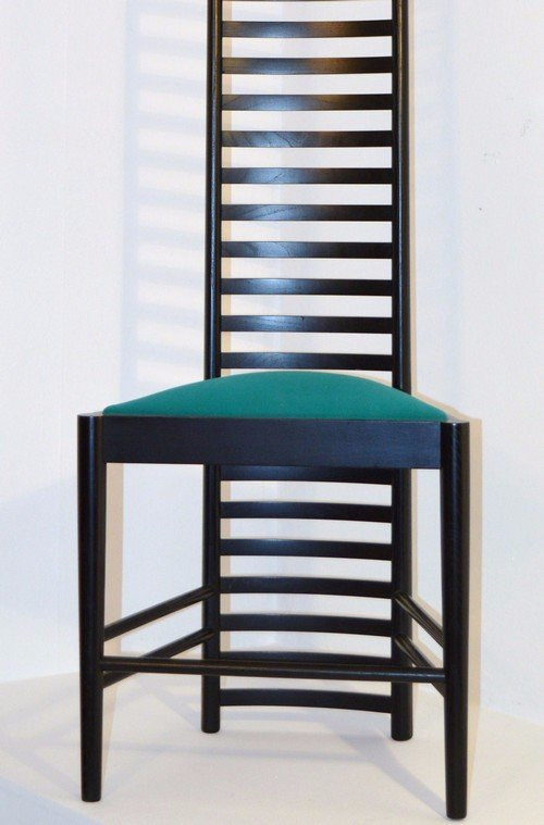 Hill House Chair By Charles Rennie Mackintosh For Casina