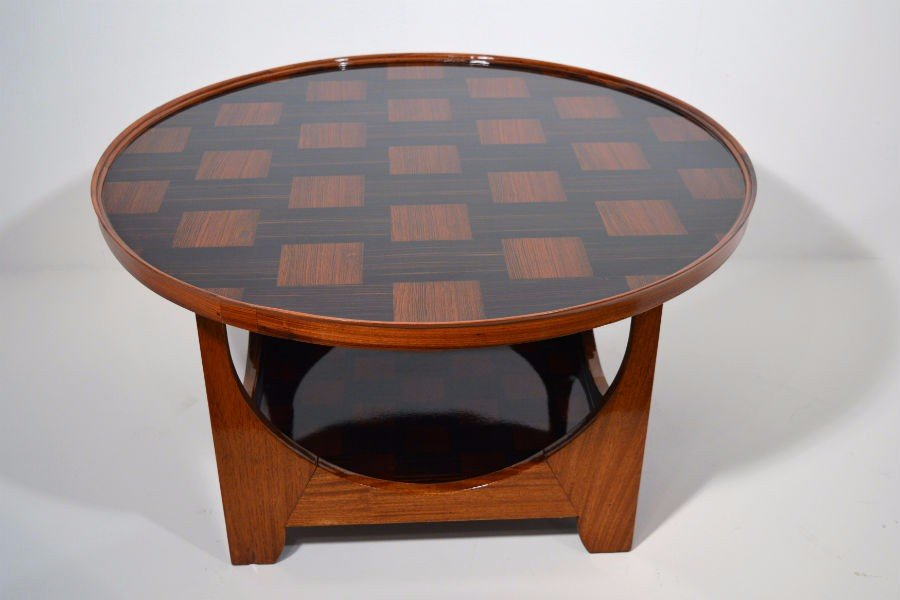 La japonaise coffee table by louis majorelle for Table japonaise