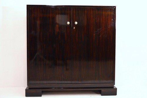 Macassar Ebony Cabinet 1930s