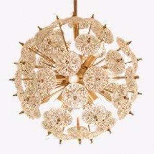 Sputnik Chandelier Lamp By Emil Stenjar 1960s