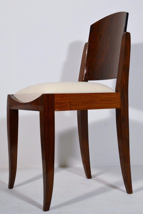Rosewood Dining Set By Francisque Chaleyssin