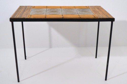 Art Deco Bijzettafeltje.Vintage French Coffee Table 1950s